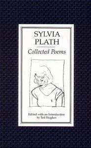 Book cover of Collected Poems, featuring a an outlined drawing
