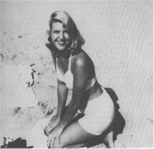 Sylvia Plath at the Beach