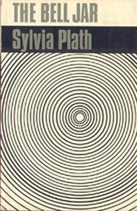 Book cover of The Bell Jar, featuring concentric circles