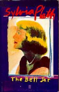 Book cover of The Bell Jar, featuring a painting of a woman in profile