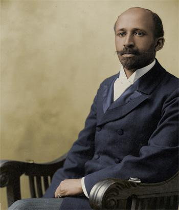 W. E. B. DuBois color portrait