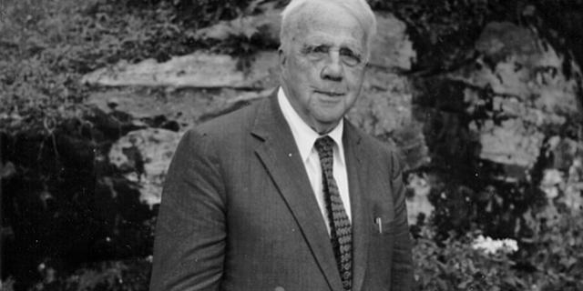 Robert Frost at  Camp Cavendish (1957)